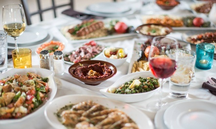 Mediterranean Food and Hookah at Babylon Mediterranean Restaurant and Lounge (Up to 62% Off); 3 Options Available