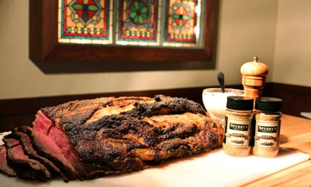 Prime Rib Brunch Buffet for Two