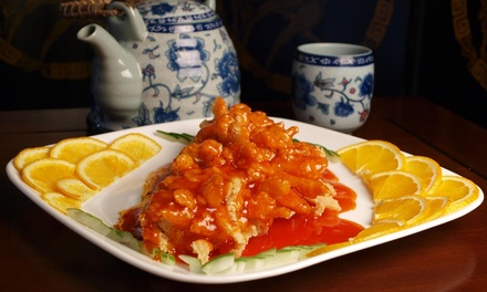 Chinese Dinner for Two or Four, or Chinese Food for Takeout at Cafe 99 (Up to 75% Off)