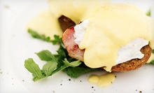 $10 for $20 Worth of New American Cuisine and Drinks for Breakfast or Lunch at HG Bistro. Two Options Available.