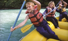 Whitewater-Rafting Trip for Two or Four with Lunch from Wild Waters Outdoor Center (Up to 53% Off)