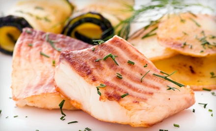 One or Two Groupons for Seafood at Pacifica Seafood & Bar (Half Off)