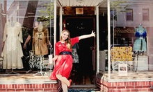 Vintage Apparel and Accessories at Paper Doll Vintage Boutique (Up to 53% Off). Two Options Available.