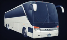 Round-Trip Shuttle for 1, 2, or 4 to Empire City Casino at Yonkers Raceway from Silver Star Limousine (Up to 58% Off)