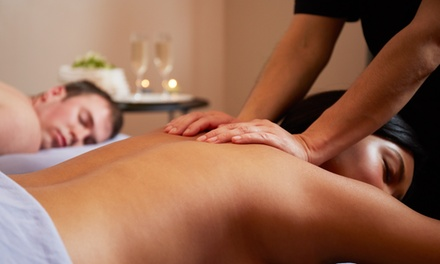 Massages with Reflexology and Wine or a Couples Massage at The Massage Spa of Winter Park (Up to 56% Off)