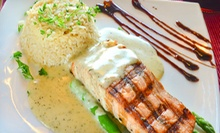 Mediterranean Dinner for Two or Four on Sunday–Thursday or Friday–Saturday at Athens (Up to 56% Off)