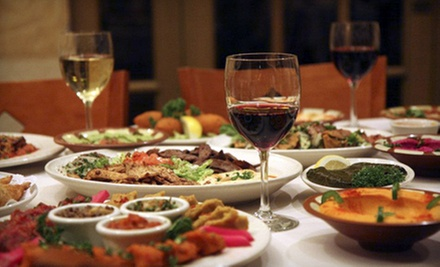 Middle Eastern Cuisine on Sunday through Thursday or Dinner and a Show on Friday at Carousel Restaurant (Up to 51% Off)
