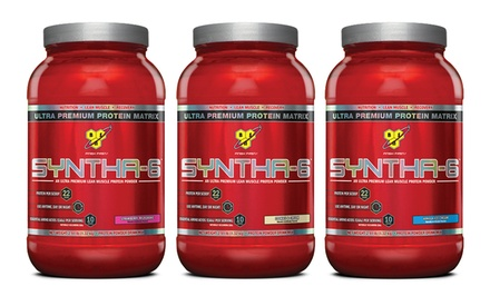 Syntha-6 Supplements (2.9 lbs.) with 10-Serving Sample of N.O. Xplode