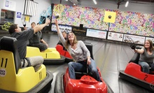 Demolition Ball or Laser-Tag and Laser-Maze Sessions for Four and Snacks at Demolition Ball - Adrenaline Zone (Half Off)