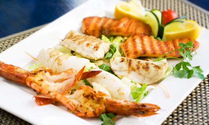 La Conchiglia - La Conchiglia: Menu di 4 portate con specialità di pesce e vino sul lago di Garda da 39,90 €
