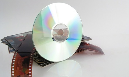 Photo- and Video-Digitization Services from ScanDigital (Up to 71% Off). Two Options Available.