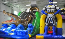 A Six-Use Open-Play Pass or a Party for Up to 25 Kids at Jump!Zone (Up to 54% Off)