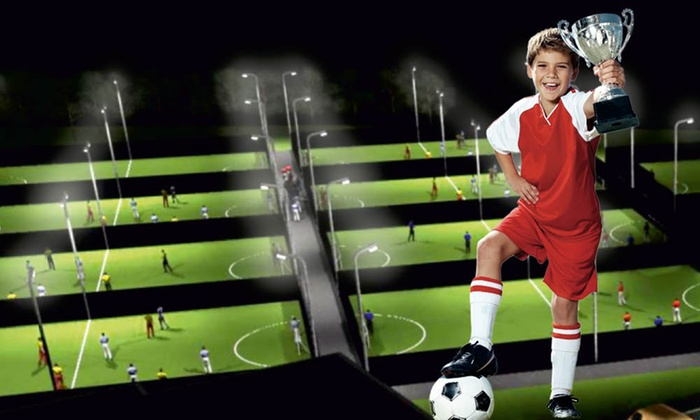 Goals Soccer Centre HO - Multiple Locations: Football Birthday Party For Ten Children for £49 at Goals Soccer Centre (Up to 63% Off)