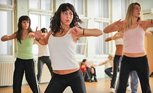 10 or 20 Zumba Classes from Get Funky Fitness (Up to 65% Off)