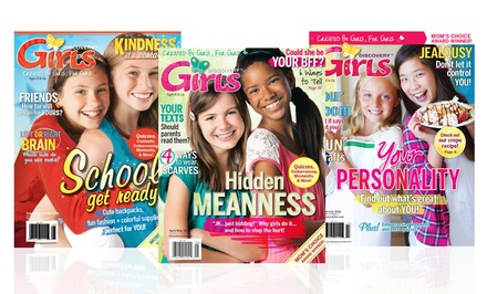 1-Year, 6-Issue Subscription to Discovery Girls Magazine