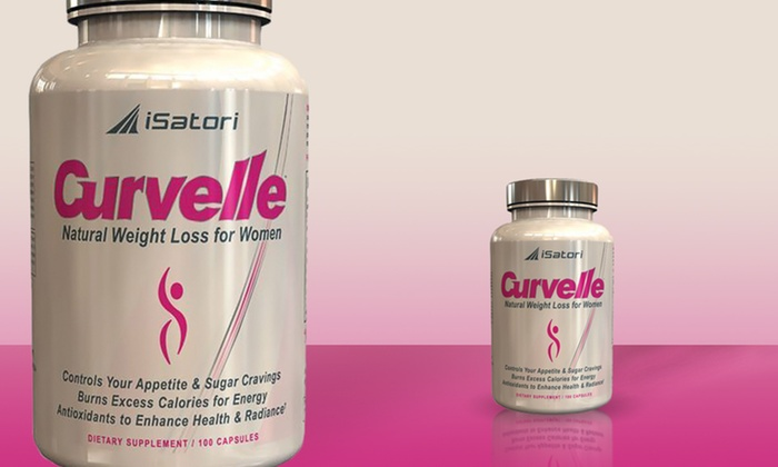 iSatori Curvelle Women's Weight-Loss Supplement with Raspberry Ketones ...