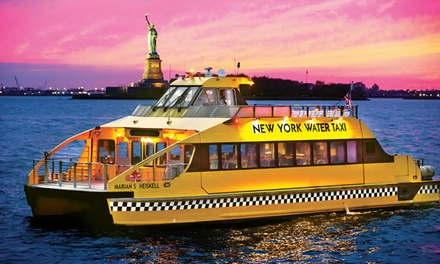 $17 for a Statue of Liberty Boat Cruise from New York Water Taxi and Circle Line Downtown ($31 Value)