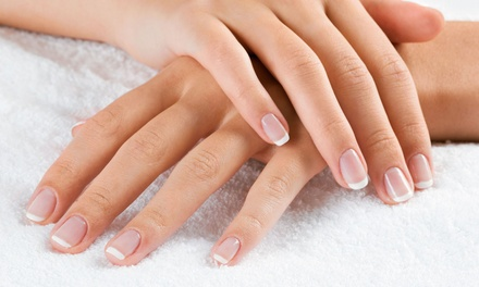 One or Two Gel Manicures at Hair & Nail Excellence (Up to 52% Off)