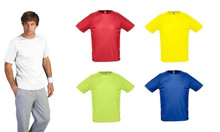 Pack de 5 t-shirts de homem com efeito antitranspirante por 24,99€