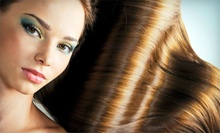 One or Two Keratin Treatments from Cortney Parker at European Hair Designs (Up to 53% Off)