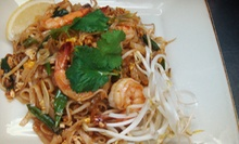 $29 for Thai Dinner for Two with Entrees, Appetizers, Soups, and Thai Iced Tea at Nine Thai Cuisine (Up to $70.70 Value)