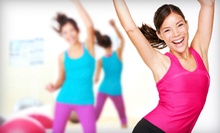 5 or 10 Zumba Classes at Total Fitness (Up to 64% Off)