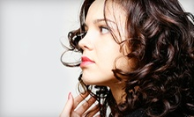 Women's Haircut with Optional Facial Wax, Color Treatment, or Perm at Images Salon (Up to 59% Off)