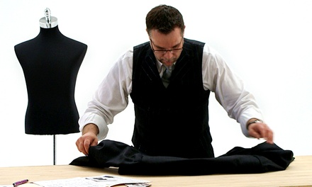 Bespoke Suit, Sport Coat with Pants, or Three Shirts with Two Handmade Ties at Morroni Custom Clothing (50% Off)
