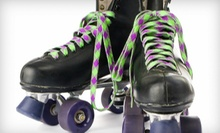 Roller Skating for Two or Four at Northland Rolladium Skate Center (Up to 53% Off). Three Options Available.