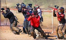Paintball Package with Gear Rental and 250 Paintballs Each for One, Two, or Four at Disruptive Paintball (Up to 60% Off)