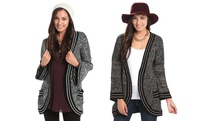 GROUPON: Womens Open-Front Cardigan Womens Open-Front Cardigan