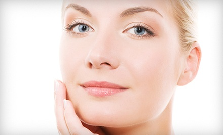 Two or Four Microcurrent Face-Lifts at Just The Right Touch Massage (Up to 58% Off)