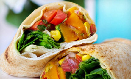 Two or Four Make-Your-Own Pitas at The Pita Pit (Up to Half Off)
