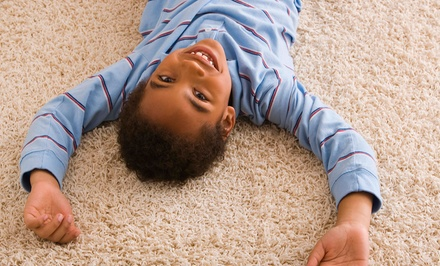 $69 for Carpet Cleaning for Three Rooms from Pinnacle Carpet Cleaning ($405 Value)