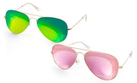 AQS James Aviator Sunglasses for Men and Women