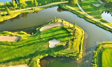 18 Holes of Golf for Two or Four with Cart Rental, Range Balls, and Drinks at Carstairs Golf Club (Up to 57% Off)