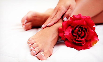 Mani-Pedi, Shellac Deluxe Pedicure, or Spa Shellac Manicure from Carla Willoughby at VIP Hair Studio (Up to 60% Off)