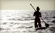 60-Minute Paddleboard Rental or Two 60-Mintue Yoga on Water or Kai Fitness Classes at Urban Kai (Up to 54% Off)