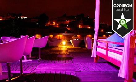 Terraza Lounge — Cais de Gaia: jantar para 2, 4, 6 ou 8 com entradas, pizzas XXL, sobremesas e bebidas desde 19,90€
