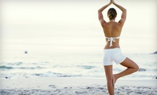 10 or 20 Yoga or Fitness Classes or $25 for $50 Worth of Services and Gear at Beach Yoga & Wellness