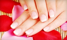 VIP Manicure or VIP Pedicure at Century Nails and Tan (Up to 54% Off)