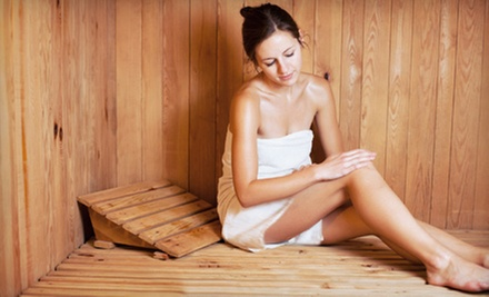 5, 10, or 20 Infrared-Sauna Sessions at Luminous Spa Studio (Up to 76% Off)
