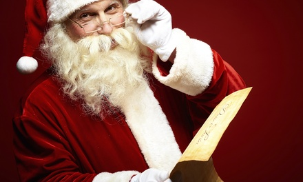 $12 for a Deluxe Letter-from-Santa Package with Phone Call from SealedbySanta.com ($29.45 Total Value)