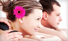 One or Three Hot-Stone Massages or One Couples Massage at D2 Day Spa (Up to 67% Off)