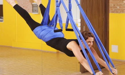 5, 10, or 15 Aerial Fitness Classes at Sky Fitness Gym (Up to 71% Off)