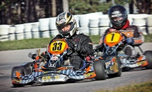 $130 for a Professional High-Speed Go-Karting Package with 15 Laps at Mosport International Karting ($289.97 Value)