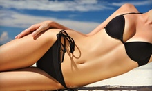 One or Three Airbrush Tans at De La Mer Salon & Spa (Up to 63% Off)