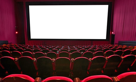 $17.50 for Movie Tickets and Regular Popcorns for Two at Santikos Theatres ($34 Value)