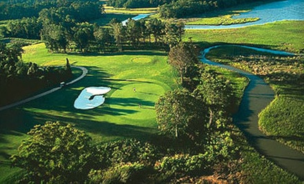 $65 for Three Golf Rounds, Plus, Range Balls and Cart at Riverfront Golf Club (Up to $192.50 Value)