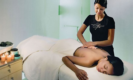 Swedish Massage with Anti-Aging Facial and/or Body Scrub at eforea Spa (Up to 57% Off)
